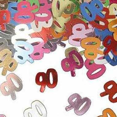 Verjaardags confetti 90 jaar