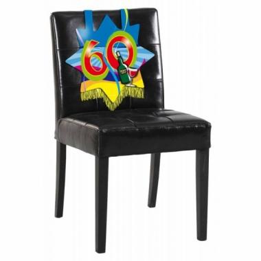 Verjaardags stoel decoratie 60 jaar