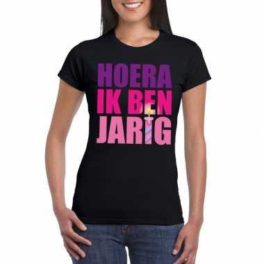 Verjaardags t-shirt voor dames roze