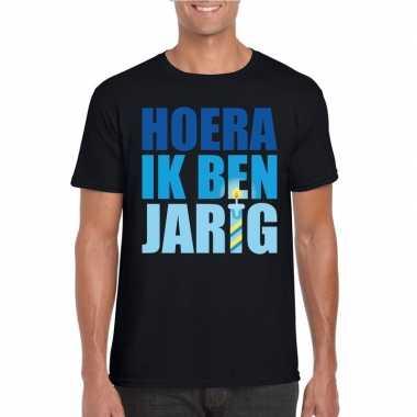 Verjaardags t-shirt voor heren blauwe