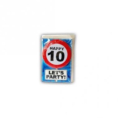 Verjaardagskaart 10 jaar