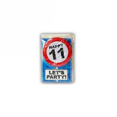 Verjaardagskaart 11 jaar