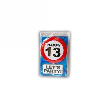 Verjaardagskaart 13 jaar