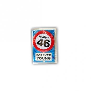 Verjaardagskaart 46 jaar