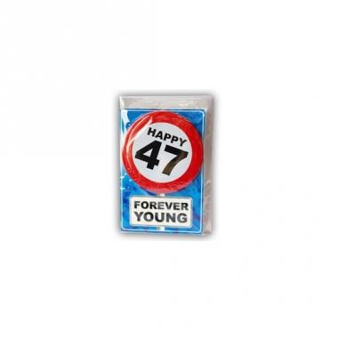 Verjaardagskaart 47 jaar