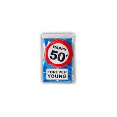 Verjaardagskaart 50 jaar