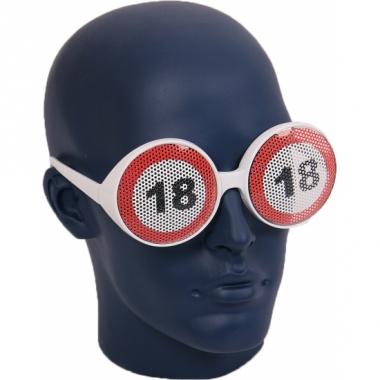 Verkeersbord bril 18 jaar