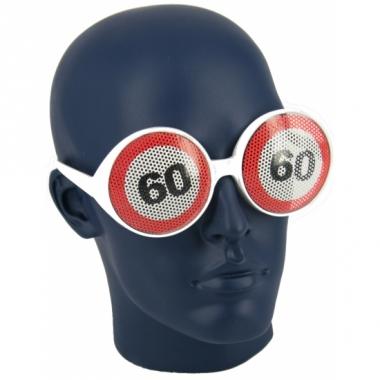 Verkeersbord bril 60 jaar