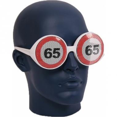 Verkeersbord bril 65 jaar