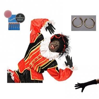 Verkleed accessoires zwarte piet