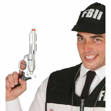 Verkleed fbi pistool/wapen 28 cm