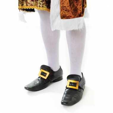 Verkleed kousen wit voor volwassenen