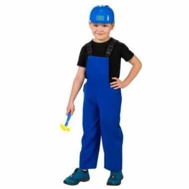 Verkleed overall bouwvakker voor kinderen