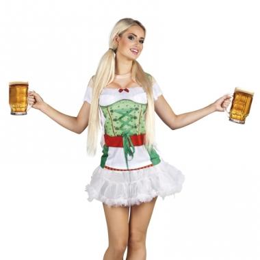 Verkleed t-shirt oktoberfest tiroler dames
