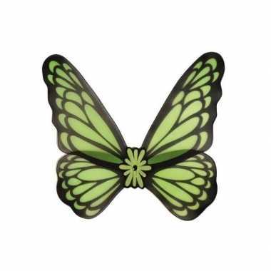 Verkleed vleugels vlinder groen volwassenen