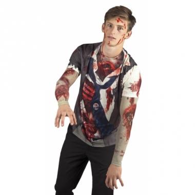 Verkleed zombie t-shirt