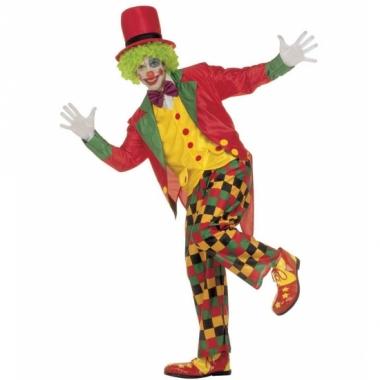 Verkleedkleding clown kostuum