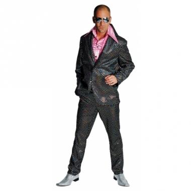 Verkleedkleding disco outfit heren