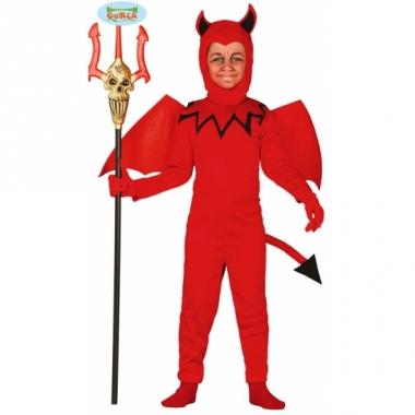 Verkleedkleding duivel kostuum voor kinderen