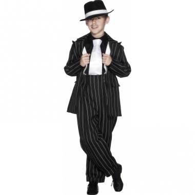 Verkleedkleding gangster kostuum kind
