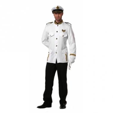 Verkleedkleding kapiteinspak heren