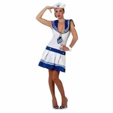 Verkleedkleding matrozen jurkje voor vrouwen