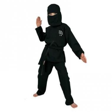 Verkleedkleding ninja pak kinderen