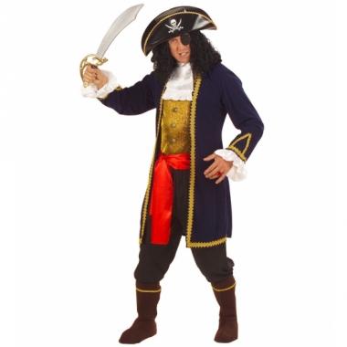Verkleedkleding piraat heren luxe