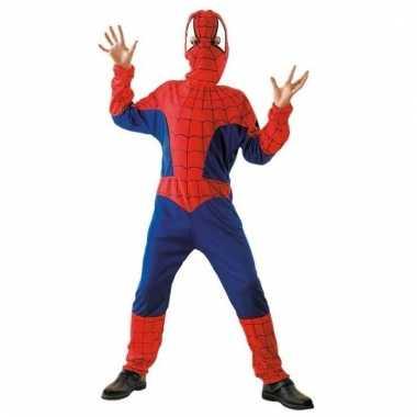Verkleedkleding spinnenheld pak