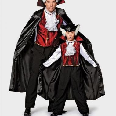Verkleedkleding vampier kostuum
