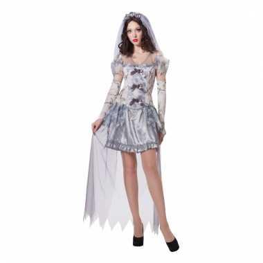 Verkleedkostuum spook bruid voor dames