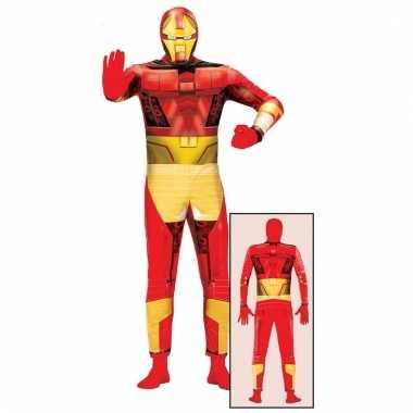Verkleedpak tony superheld voor volwassenen