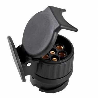 Verloopstekker / adapter van 13-polig naar 7-polig