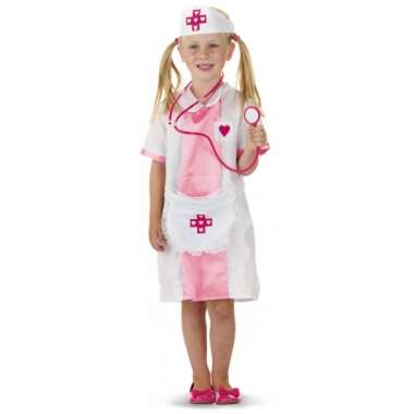 Verpleegster kostuum voor meiden