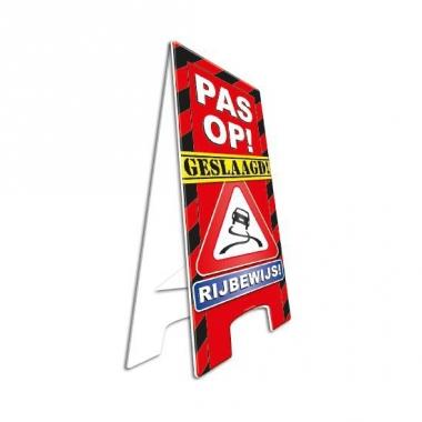 Versiering geslaagd rijbewijs bord