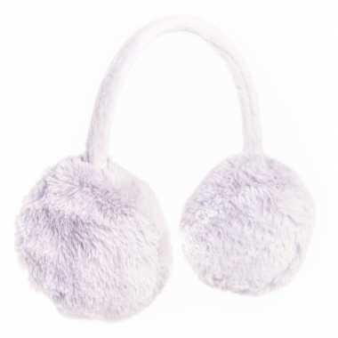 Verstelbare grijze oorwarmers voor meisjes