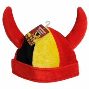 Viking hoed vlag belgie