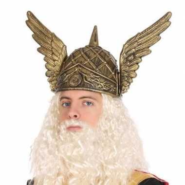 Vikinghelm met vleugels voor heren