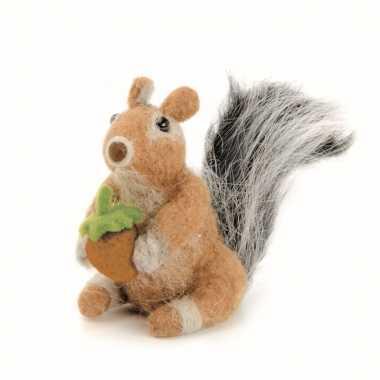 Vilten eekhoorntje maken hobby set