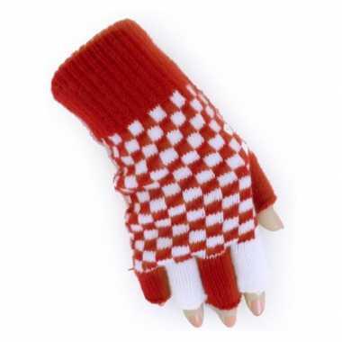 Vingerloze brabant handschoenen