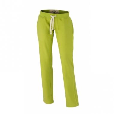 Vintage joggingbroek lime groen voor dames
