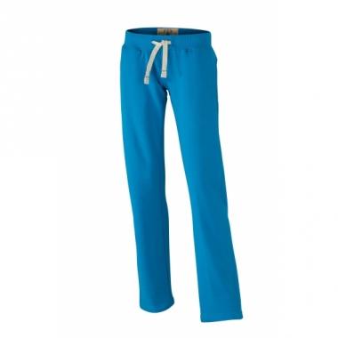 Vintage joggingbroek turquoise voor dames