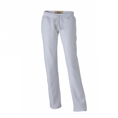 Vintage joggingbroek wit voor dames