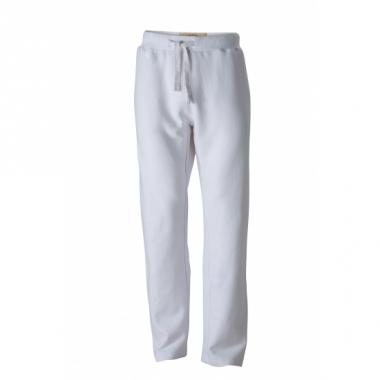Vintage joggingbroek wit voor heren
