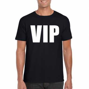 Vip fun t-shirt zwart voor heren