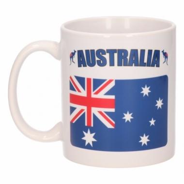 Vlag australie beker 300 ml