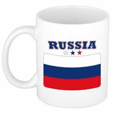 Vlag rusland beker 300 ml