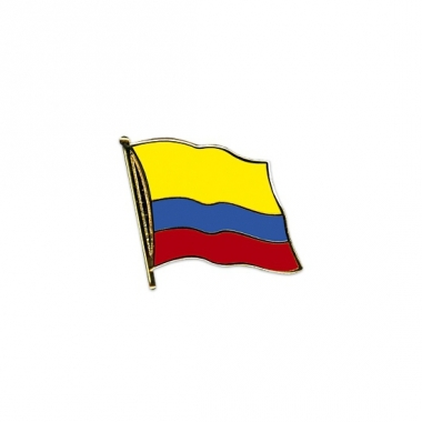 Vlag speldjes colombia
