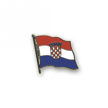 Vlag speldjes kroatie