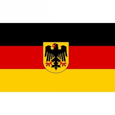 Vlag van duitsland mini formaat 60 x 90 cm